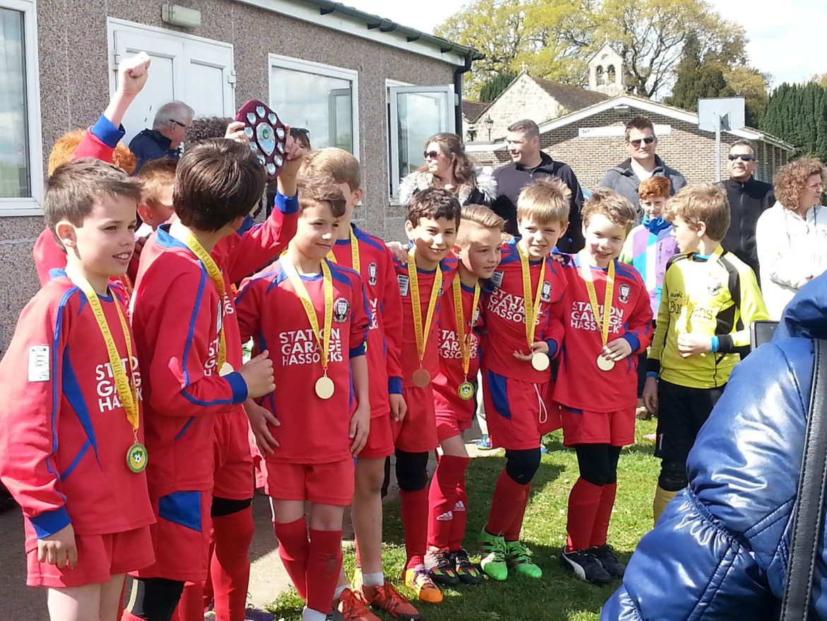 U10s Win Horsham League Cup