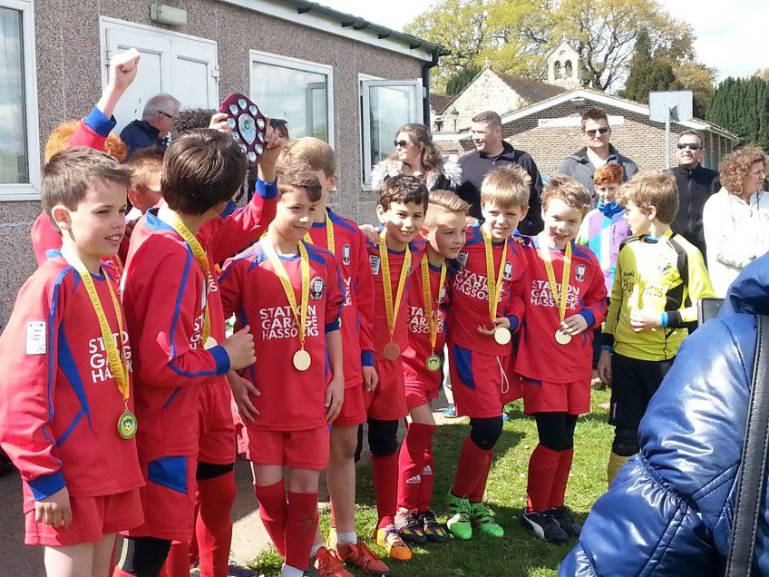 U10s Win Horsham League Cup