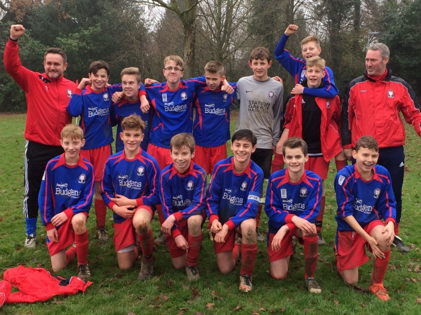 U14's Eagles win semi-final on a penalty shootout…!!