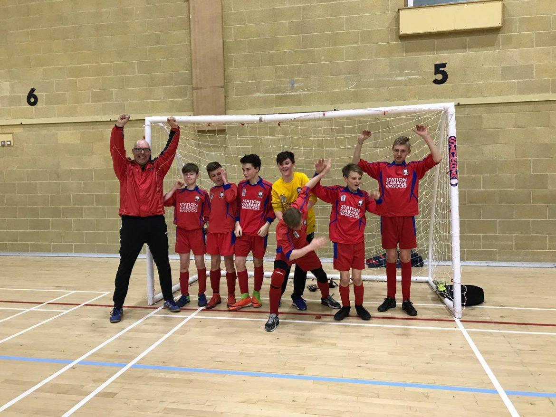 U13 Hawks – MSYMFL Futsal 'Plate' Winners….!!