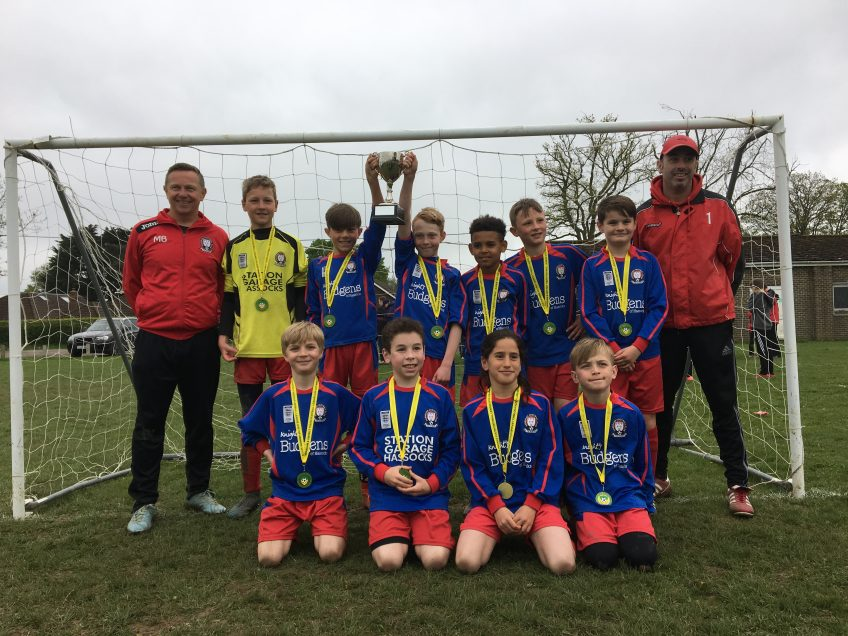 HJFC U10's Hawks win HDYFL Cup for second year in a row