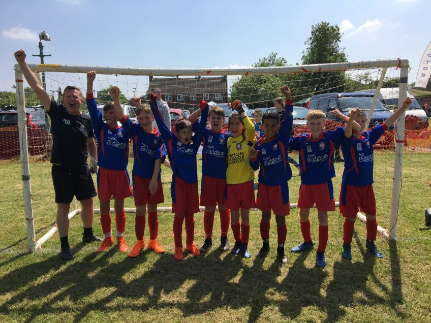 Hassocks U10 Hawks – Henfield Tournament Winners