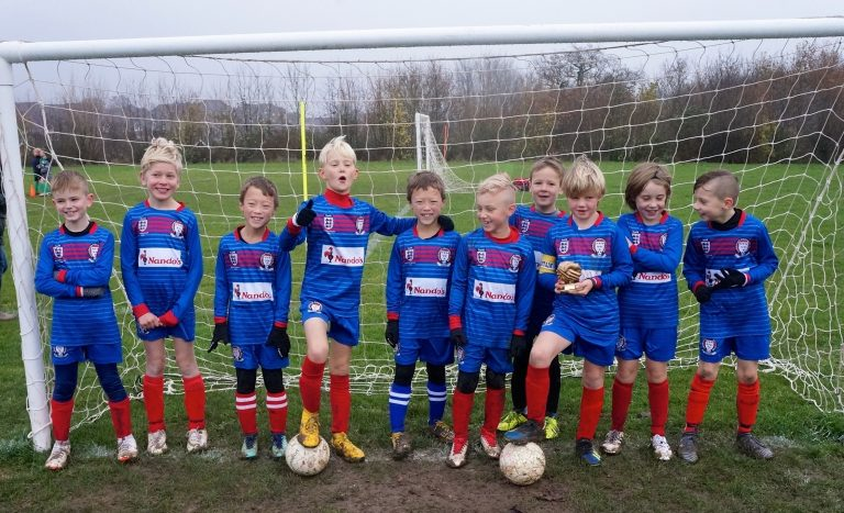 U9 Falcons team photo