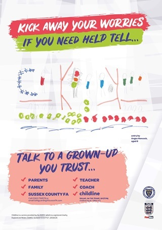 Sussex FA Safeguarding Poster Competition