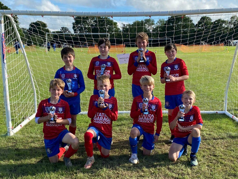HJFC U10 Falcons – Runners up at Hurst